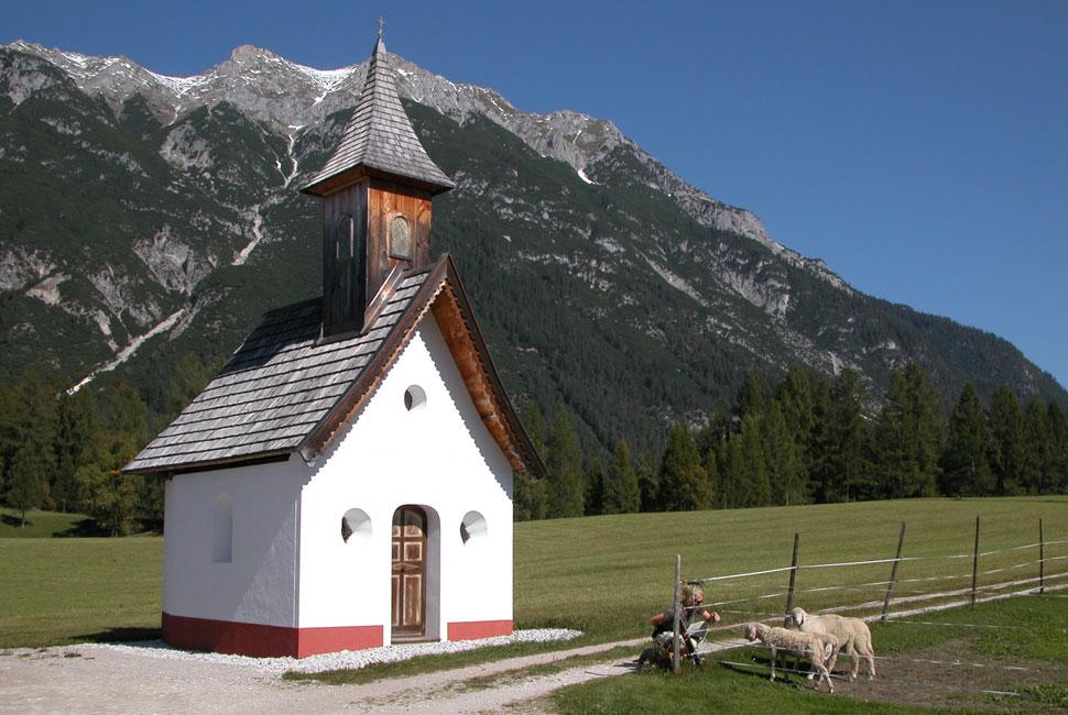 Jakobswegkapelle in der Plaik